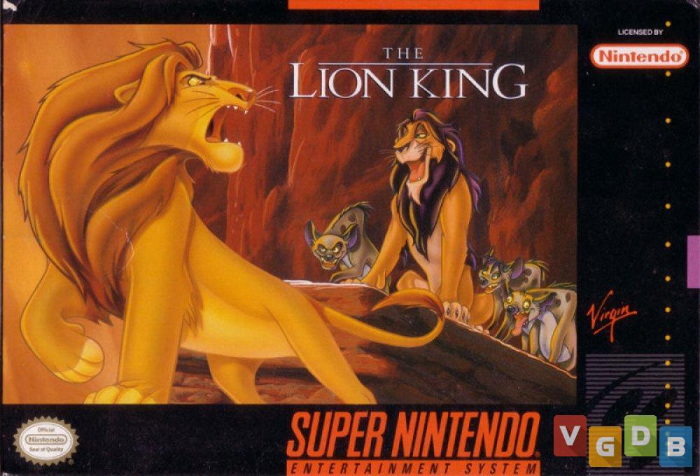 The Lion King - VGDB - Vídeo Game Data Base