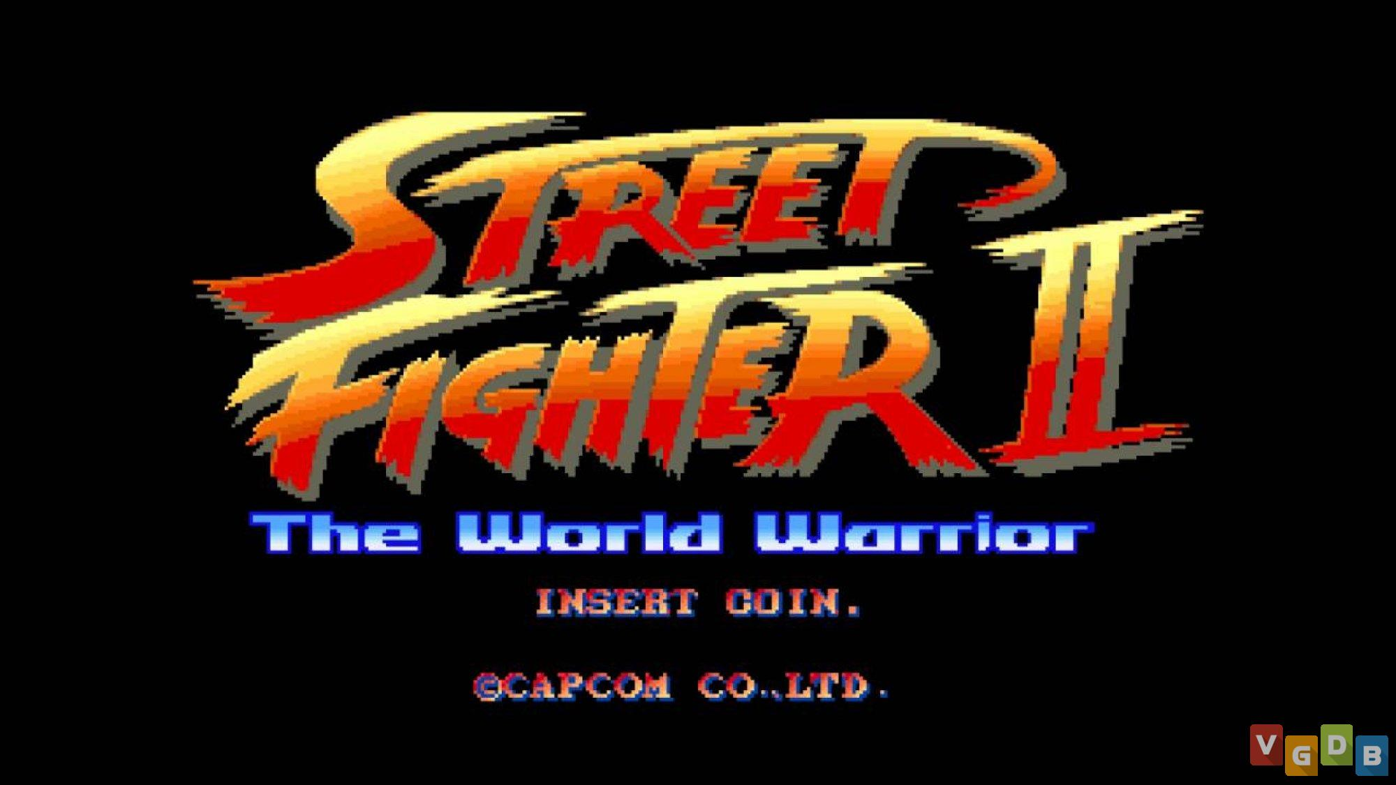 Street Fighter II: The World Warrior - VGDB - Vídeo Game Data Base